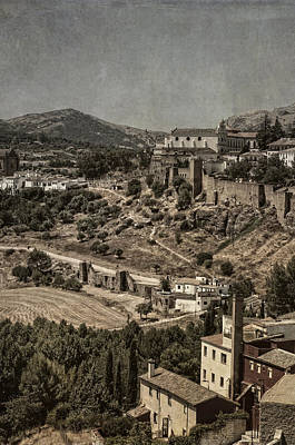 Photograph - Old Ronda. Vintage Cards by Jenny Rainbow