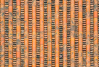Photograph - Old Roof  by Songquan Deng