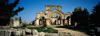 Byzantine Photograph - Old Ruins Of A Church, St. Simeon The by Panoramic Images