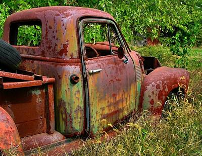 Old Trucks Photograph - Old Rusty by Julie Dant