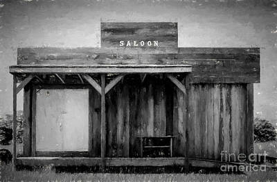 Photograph - Old Saloon by Les Palenik