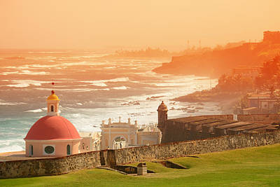 Photograph - Old San Juan by Songquan Deng