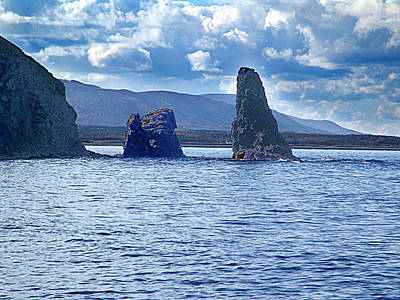Photograph - Old Scot Rock by George Cousins
