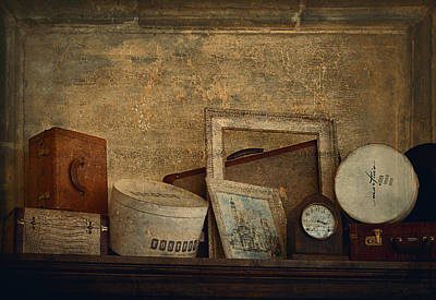 Interior Still Life Digital Art - Old Things  by Maria Angelica Maira