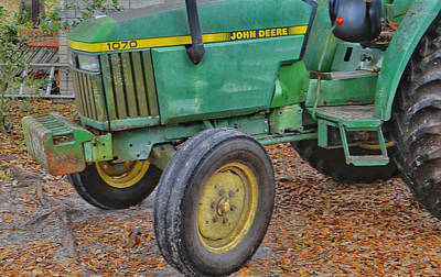 Old Timer 1070 John Deere Original by Dennis Dugan