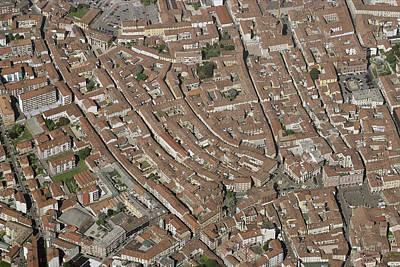 Asti Photograph - Old Town, Asti by Blom ASA