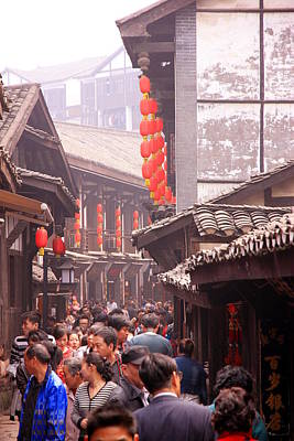 Photograph - Old Town Chongqing by Valentino Visentini