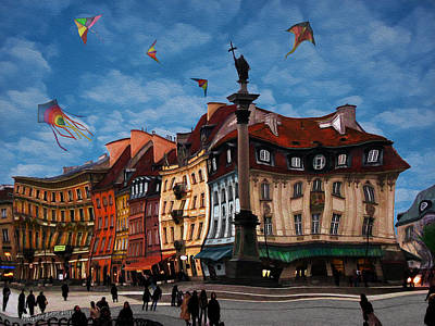 Photograph - Old Town In Warsaw #3 by Aleksander Rotner