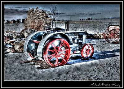Photograph - Old Tractor by Michaela Preston