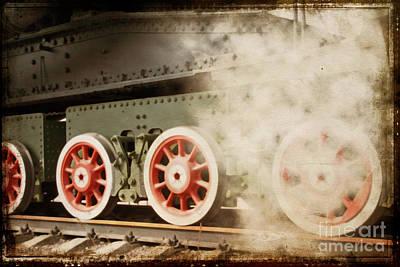 Old Train Original by Lali Kacharava