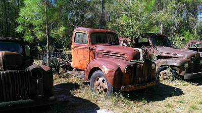 Photograph - Old Truck 3 by Lew Davis