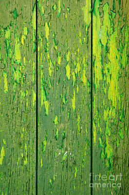 Wallpaper Photograph - Old Wooden Background by Carlos Caetano