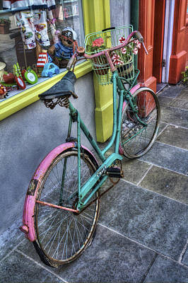 Photograph - Olde Bike by Ian Mitchell
