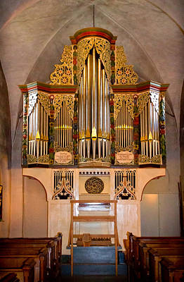 Photograph - Oldest Organ by Jenny Setchell