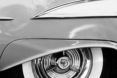 Photograph - Oldsmobile 98 Wheel Emblem by Jill Reger