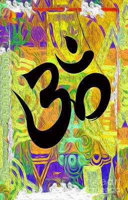 Digital Art - OM by Gregory Dyer