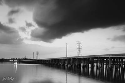 Ominous Cloud Art Print by Phill Doherty