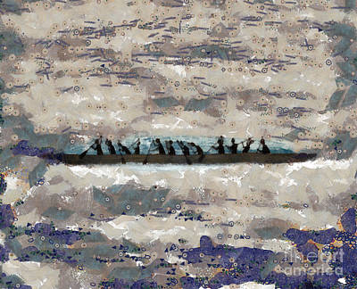 Shipping Mixed Media - On The Trip by Michal Boubin