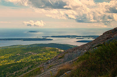 Photograph - On Top Of Acadia by Paul Mangold