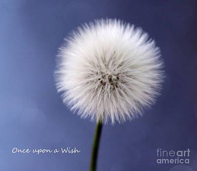 Once Upon A Wish Art Print by Krissy Katsimbras