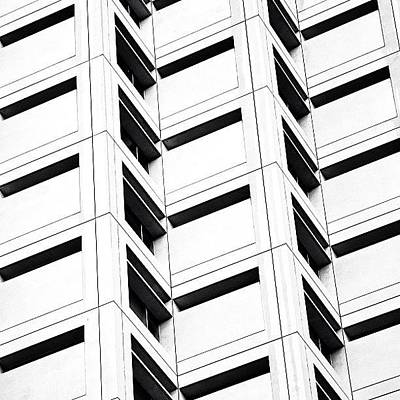 Architecturelovers Photograph - One Brickell Square - Miami by Joel Lopez