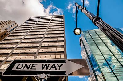 Photograph - One Way by Ryan Heffron