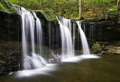 Photograph - Oneida Falls by Paul Riedinger