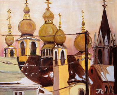 Painting - Onion Domes by Julie Todd-Cundiff
