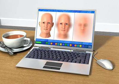 Online Identity Theft, Conceptual Art Print by Science Photo Library
