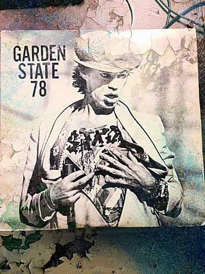 Only Rock N' Roll Art Print by Sue Rosen