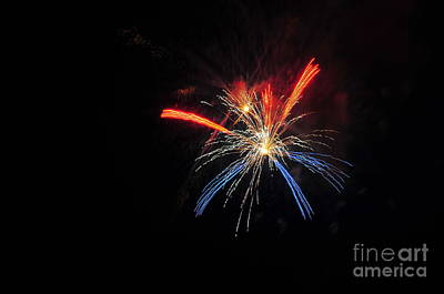 4th July 1776 Photograph - Onset Fireworks 2 by Catherine Reusch Daley
