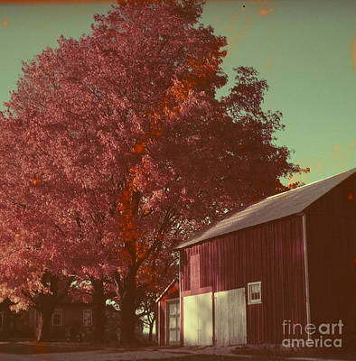 Photograph - Ontario Farm by Vintage Photography