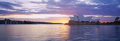 Oceania Photograph - Opera House At The Waterfront, Sydney by Panoramic Images
