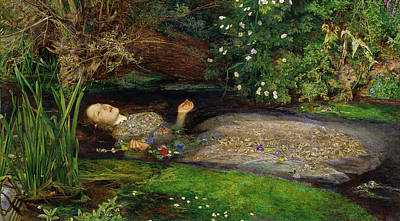 Tate Painting - Ophelia by Philip Ralley