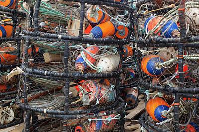 Crab Pots Photograph - Or, Charleston, Crab Pots by Jamie and Judy Wild
