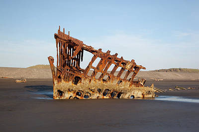 Or, Fort Stevens State Park, Wreck Art Print by Jamie and Judy Wild