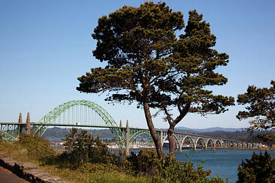 Or, Newport, Yaquina Bay Bridge Art Print