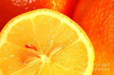 Citron Photograph - Orange by Michal Bednarek