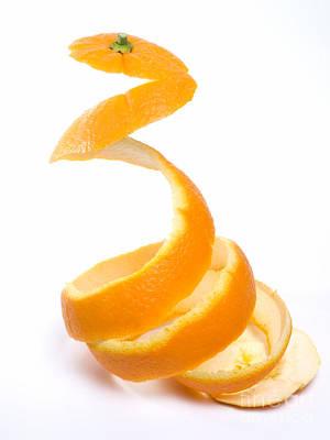 Orange Peel Art Print