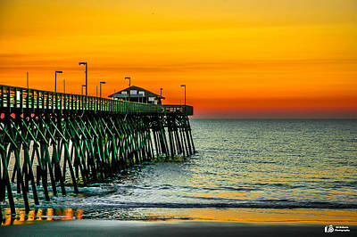 Photograph - Orange Sunrise by Ed Roberts