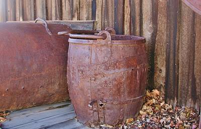 Photograph - Ore Bucket by Marilyn Diaz
