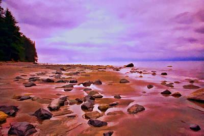 Photograph - Oregon Beach by Allen Beatty