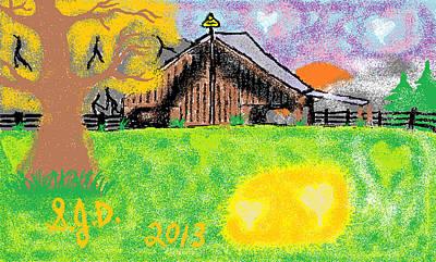 Oregon Art Print by Joe Dillon