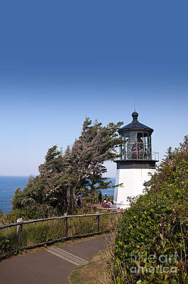 Photograph - Oregon Lighthouse by Brenda Kean