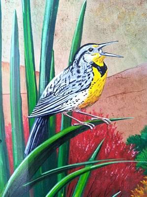 Painting - Oregon Meadowlark by Jennifer Lake