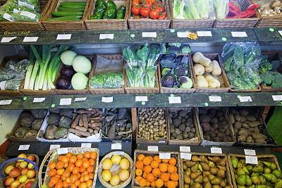 Local Food Photograph - Organic Farm Shop Display by Ashley Cooper