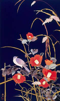 Digital Art - Oriental Wildflowers by Haruyo Morita