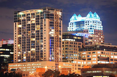 Photograph - Orlando Downtown Architecture by Songquan Deng