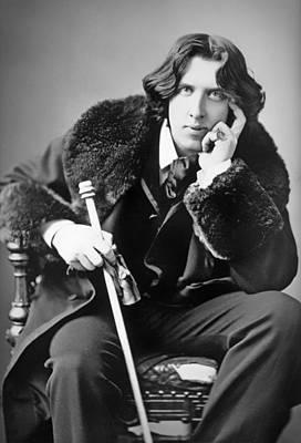 1880s Photograph - Oscar Wilde 1882 by Mountain Dreams