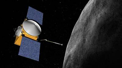 Rex Photograph - Osiris-rex Asteroid Mission by Nasa/goddard/university Of Arizona